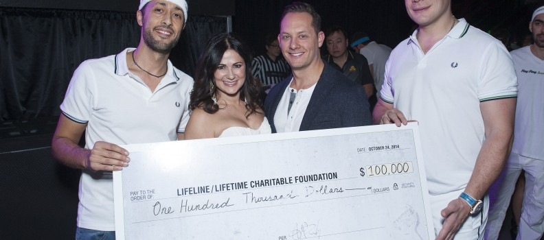 "Toronto Star: ""Lifetime's Lifeline Foundation Takes Home the Cup"""