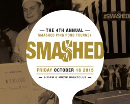 Smashed Ping Pong Tourney is Back!