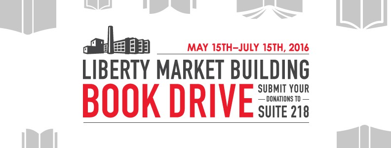 Liberty Market Building Book Drive