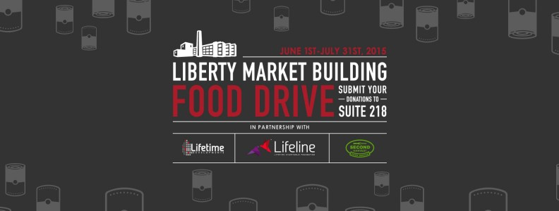 Liberty Market Building Food Drive